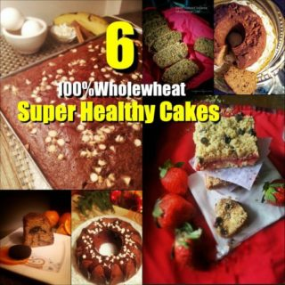 whole-wheat super healthy cakes recipes