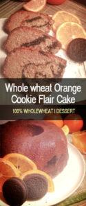 whole wheat orange cookie flair cake