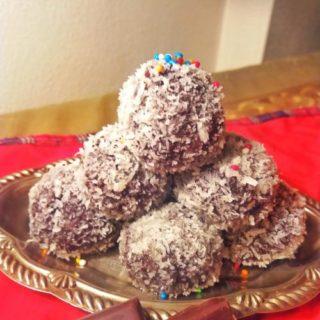 Recipe Lamington Truffles