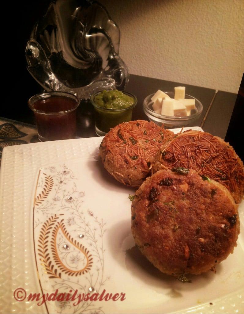 Recipe Crispy Chapati Kababs