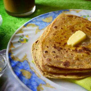 Kadi Pakora Parantha /Indian Curry Flatbread