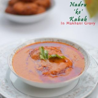 nadru kabab /lotus stem dumplings