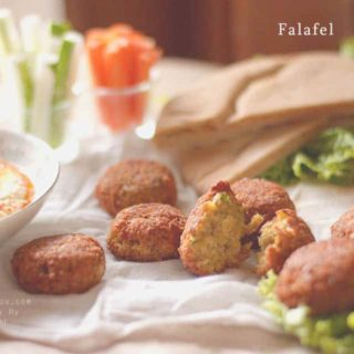 Falafel with humus | Authentic Mediterranean taste