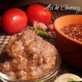 Recipe Flax seed Sauce / Alsi ki Chutney