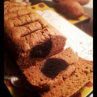Recipe Sweet Potato Bread with hidden Oreo Treasure