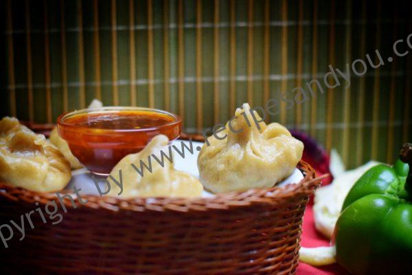 Whole wheat Veg Momo /Dumpling