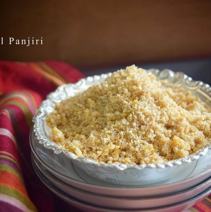 Sesame Seeds/ Til Seeds Panjiri -gluten free and vegan recipe