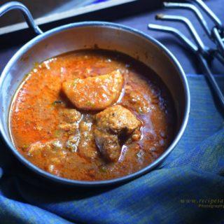 Aloo Wadiyan- A punjabi delicacy