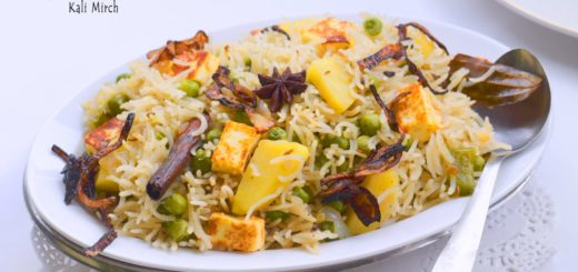 black pepper rice, pilaf