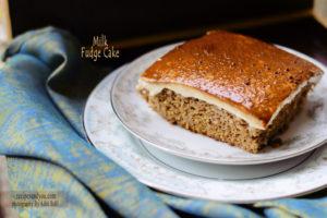 milk fudge cake