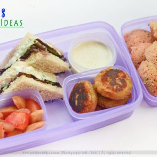 Kids Tiffin Ideas- Ready in 20 Minutes