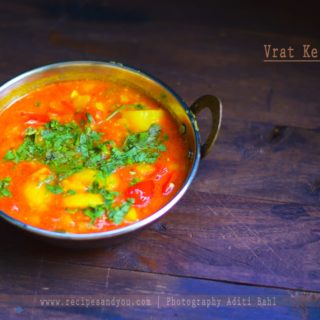 Potato Curry/Vrat Ke Aloo