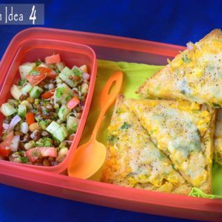 Lunch Box Option /Kids Tiffin Idea 4- Made under 15 minutes.