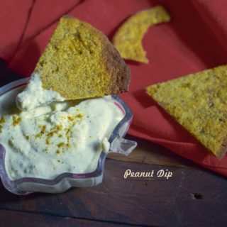Peanut Dip- No onion No garlic recipe