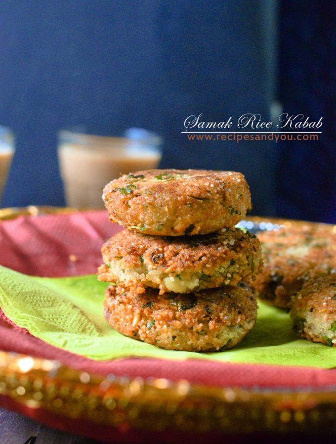 Samak Ke Kabab- Fasting Recipe