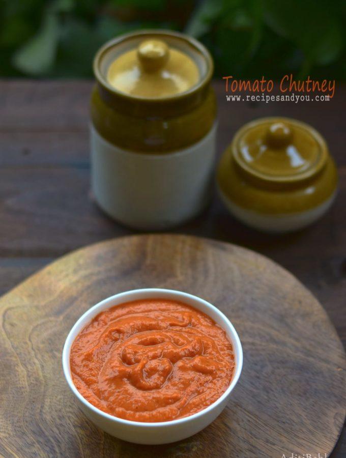 Tomato Onion Chutney-Dosa/Idli Chutney-Restaurant style