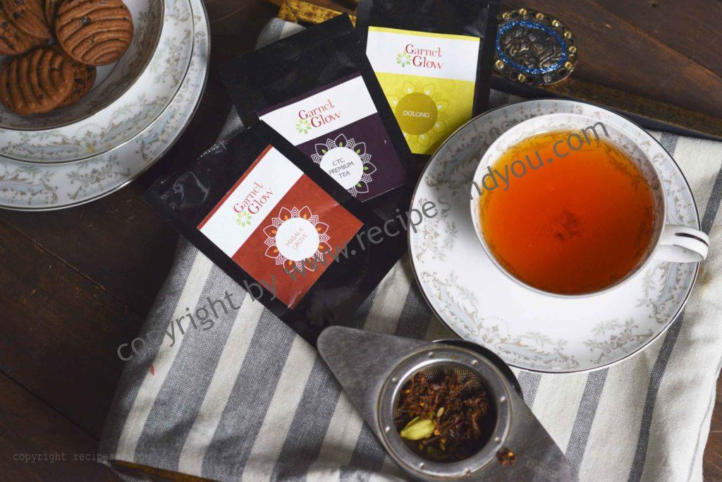 Garnet glow Tea review/ recipesandyou