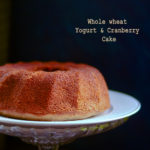 yogurt cranberry cake