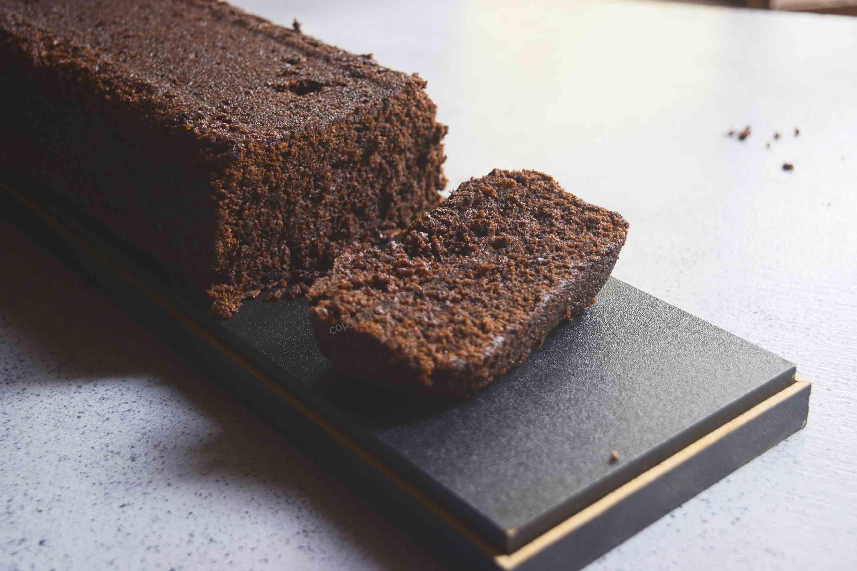 One pot Whole-wheat Egg less Chocolate Cake | Recipesandyou