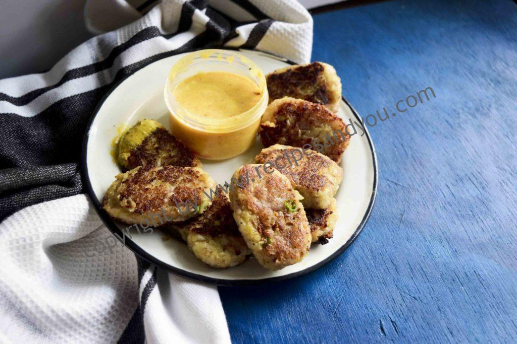 crispy onion cutlets