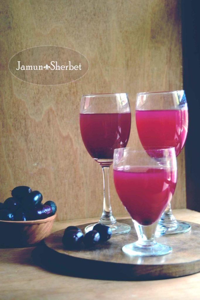 jamun juice/ jamun sherbet