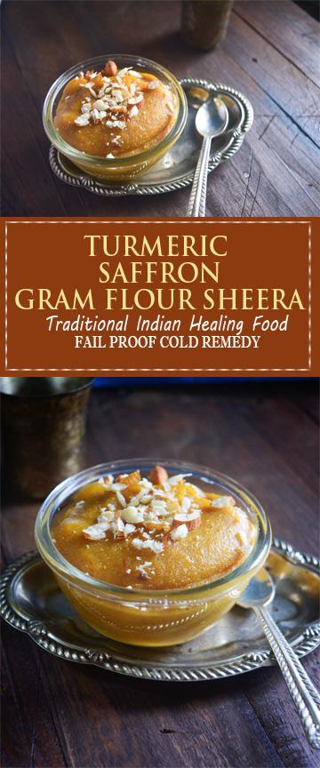 turmeric saffron sheera