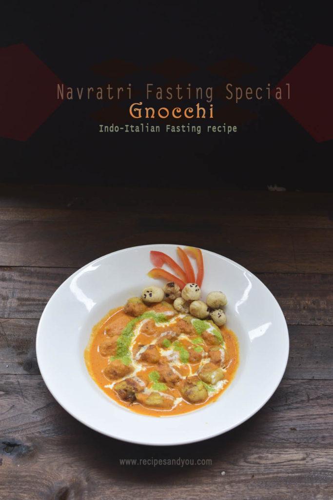 Gnocchi-gluten free recipe