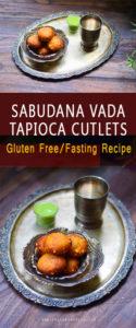 sabudana vada/navratri fasting recipe