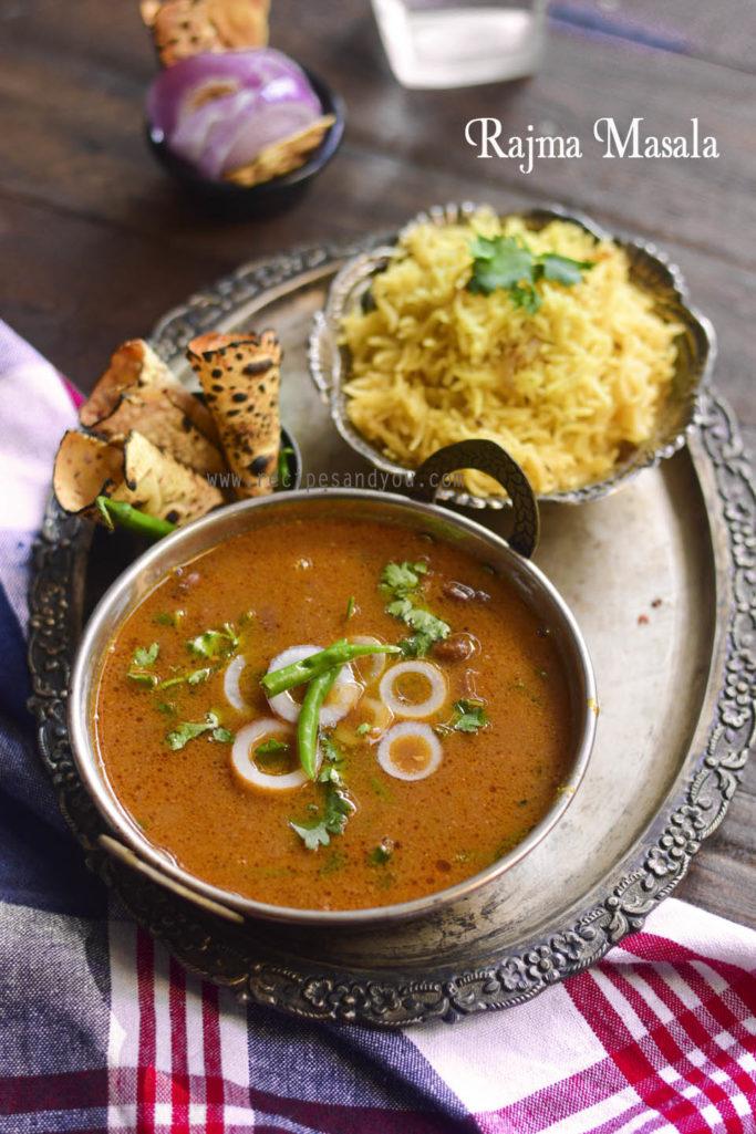Rajma Masala |  Rajma Masala -restaurant style