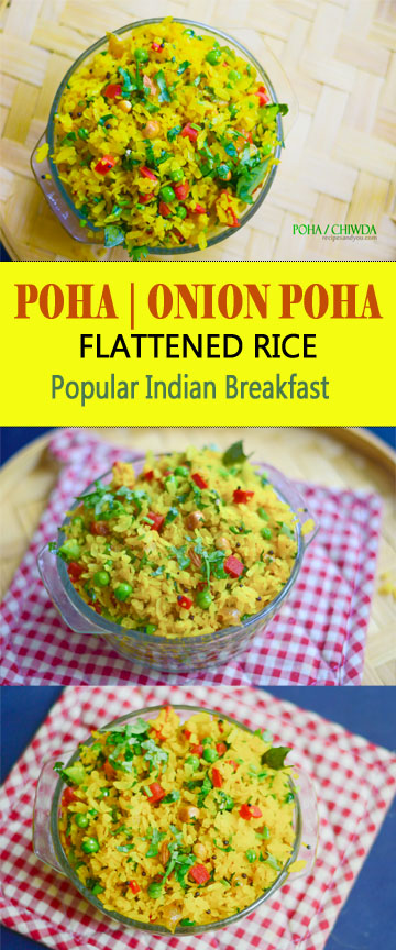 how to make poha recipe in english