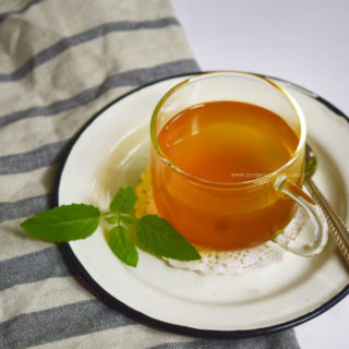 kadha, remedy for cold and cough