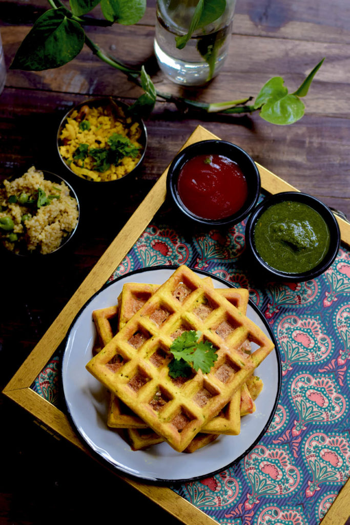 Spiced Savory Waffles   The best savory waffles   Recipes & You